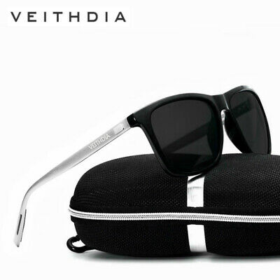 Aluminium Mens Polarized Driving Sunglasses Sport Glasses Retro Eyewear Goggles