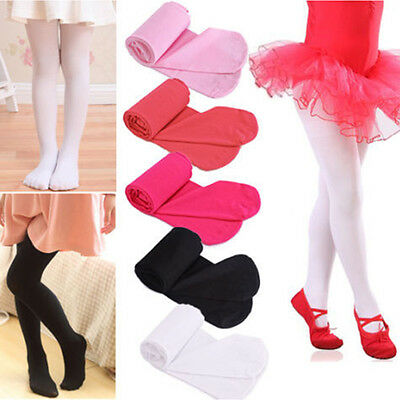 Candy Colors Girls Kids Tights Opaque Pantyhose Hosiery Ballet Dance Socks