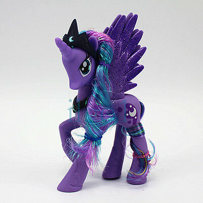 My Little Pony Friendship is Magic Princess Luna With Crown Figure Kid Toy