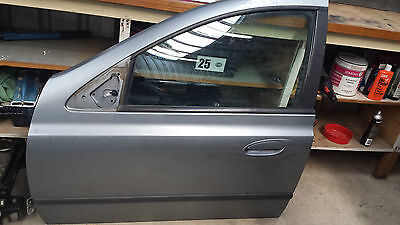 Ford Ba  Falcon 2003 Mdl L/hand Front Passenger Door Shell Paint Code: M7 Silver