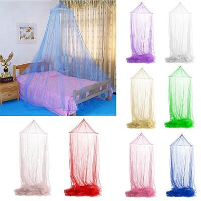 Round Lace Insect Canopy Netting Curtain Bed Outdoor Dome Mosquito Net Fashion