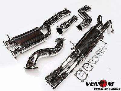 Venom BA BF Turbo Ute Turbo-Back Exhaust - Falcon XR6 FPV F6 FORCE6 BARRA