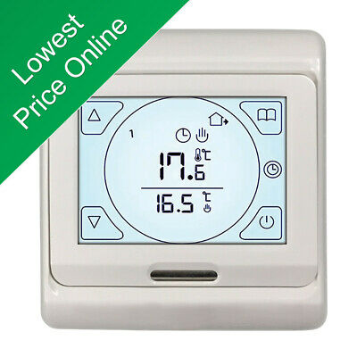 Touch Screen Thermostat Controller For Electric Underfloor Heating