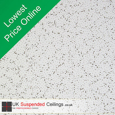 Armstrong Cortega Se Suspended Ceiling Tiles 595x595mm 8 Tiles per box 600x600