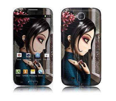 Skin Protector Kit F+R Per X Samsung Galaxy S4 Some Other Time *et*
