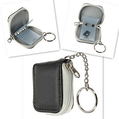 Mini Slot Carrying Case Storage Memory Micro SD XD Card Wallet Holder Pouch Bag