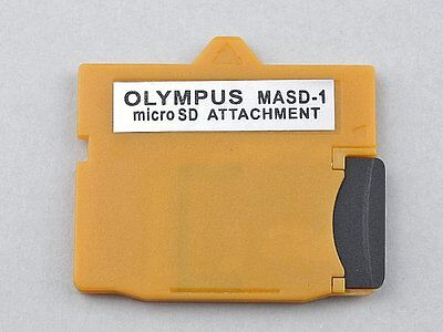 MASD-1 Micro SD TF Card to XD Card Adapter Converter For Olympus Yellow