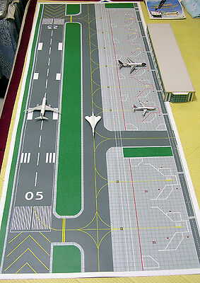 1/500 Accessories Large Airport basic set Ground Foil