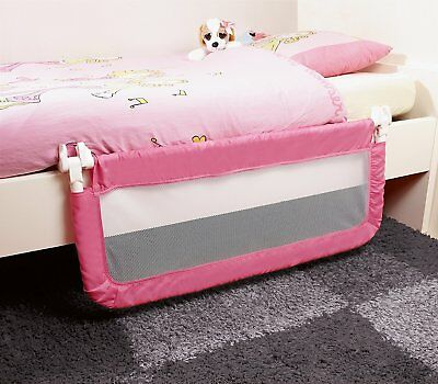Safety 1st Compact Fold Safety Bed Rail Guard Baby Kids Toddler Child - Pink