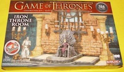 Game of Thrones McFarlane Toys Building Set - Iron Throne Room #19391