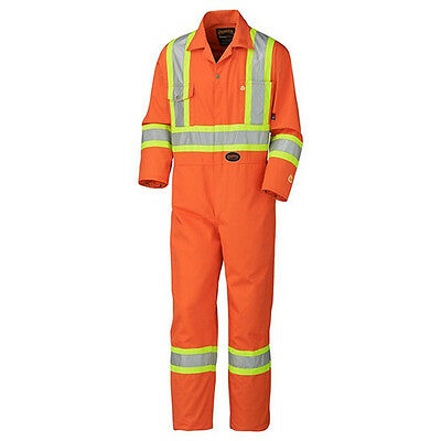 Pioneer Flame Resistant Cotton Safety Coverall Model 5555 Size 46 or XL