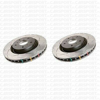 For Subaru Legacy/Forester XT/WRX/BRZ DBA front performance SLOTTED brake discs