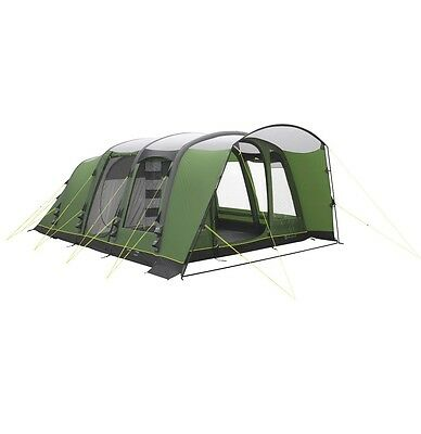 Outwell Flagstaff 6A Family Inflatable Air 6 Berth Tunnel Tent - 2016 Model -