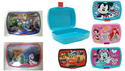 Lunchbox Brotdose Brotbox Disney Cars Micky Minnie Princess Avengers Frozen NEU