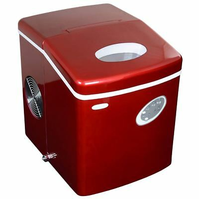 NewAir AI-100R 28-Pound Portable Ice Maker in Red