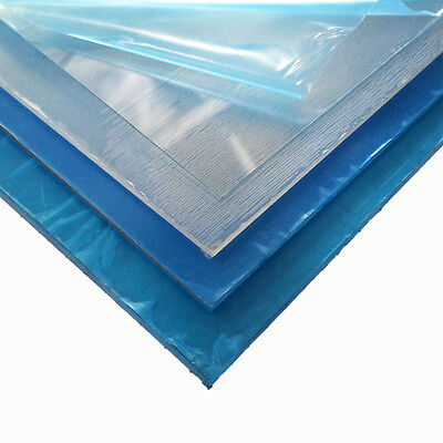 "12 pcs Clear PETG plastic sheets .020/"" x 6/"" x 6/"" Polyester Sheet RC Hobby"