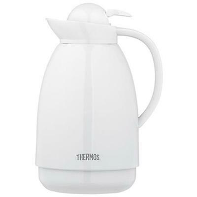 Thermos 710TRI4 34 oz. White Glass Carafe