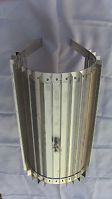 Wood Stove Wrap Heat Exchanger for 5 or 6 in. Pipe x 16 in. Reclaimer Radiator