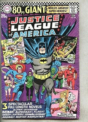 Justice League Of America #48-1966 fn 80 page giant