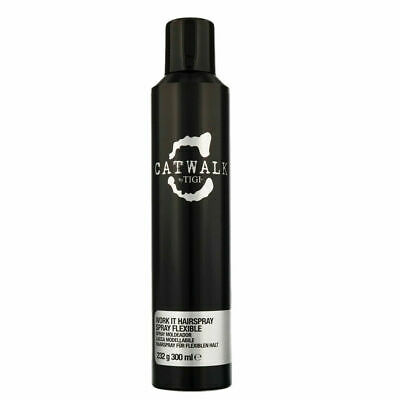 Tigi Catwalk Work It Hairspray 300ml lacca modellabile anticrespo