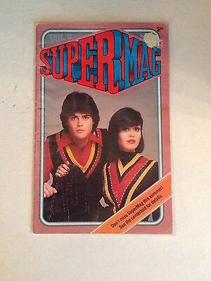 Supermag Vol 1 No. 7 Donny Marie Osmond, Flying Farfans, Vw Bugs, Horse Champion