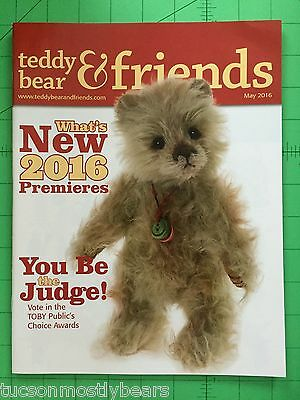 Teddy Bear And Friends Magazine May 2016