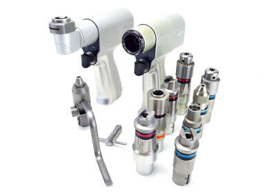 Stryker System 4 Handpiece Set with Attachments