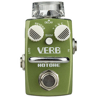 Brand NEW Hotone Effects Verb Digital Reverb Skyline Series Guitar Effects Pedal