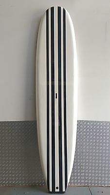Stand UP Paddle Board Black Stripe Soft by Wanted Wake paddle fin and leg rope