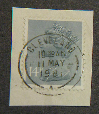 UK Great Britain Stamp 1981 May 11 Cleveland Postmark