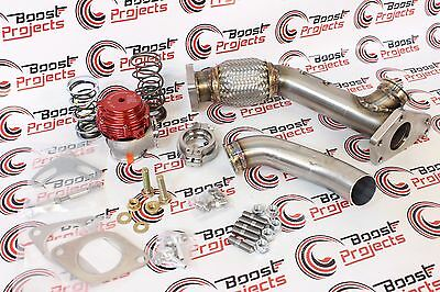 TiAL GRIMMSPEED MV-S 38 002955 WASTEGATE UP PIPE DUMP TUBE BRACKET 059001 010019