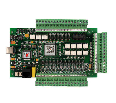 4 Axis CNC USB MACH3 Motion Control Card Interface Breakout Driver Board 1MHZ
