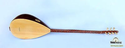 Turkish Quality Long Neck Walnut Baglama Saz For Sale Asl-202
