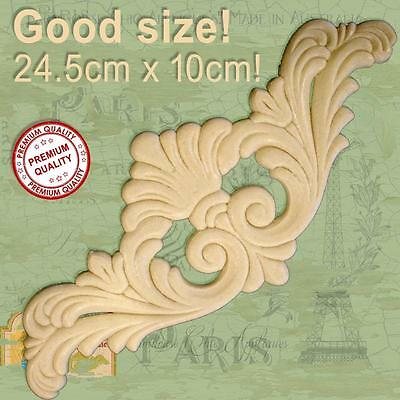 Large Shabby Chic French Furniture Molding Resin Applique Vintage Decor Art