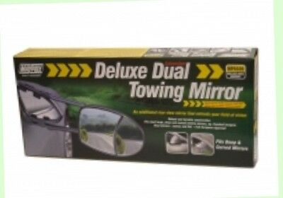 Maypole Single Deluxe Dual Glass Extension Towing Mirror (Mp8326) Caravan