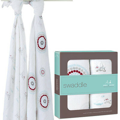 Aden Anais Swaddle Two Pack Liam The Brave Style