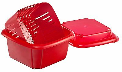 NEW Hutzler 3-in-1 Berry Box  Red