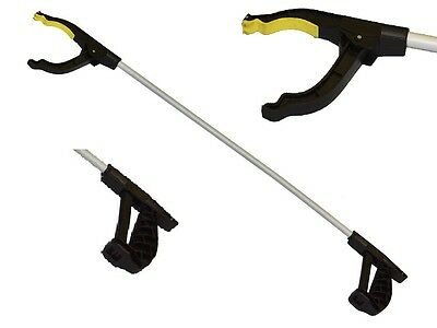Light Grab & Grip Easy Reaching Litter Rubbish Pick Up Hand Tool Disability Aid