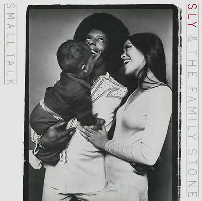 """SLY AND THE FAMILY STONE Small Talk 12"""" 180G Vinyl LP"""