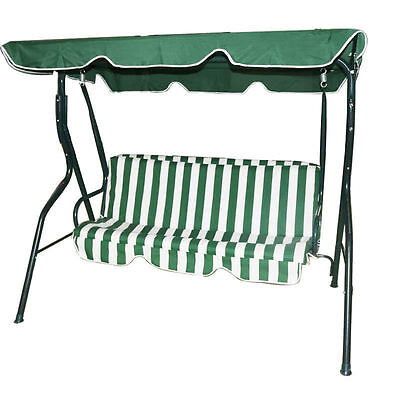 2 or 3 Seater Garden Swing Seat Outdoor Metal Bench Chair Patio Brand New Cheap