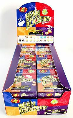 144-pack 4th Edition Jelly Belly Bean Boozled Refill / Lot of 144 Flip Top Boxes
