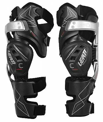Leatt NEW Mx C-Frame Braces Set Dirt Bike Protection Motocross Knee Brace Pair