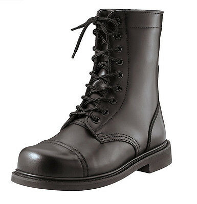 Combat Boots GI Style Black Leather Combat Boots Mil Spec Combat Boots 5075