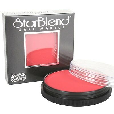 Mehron Starblend 56g Red 110R Cake Makeup - Face Paint, Body Paint, Party