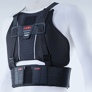 Planet Knox Chest Guard Protector Black Motorcycle Armour Large CE Approved