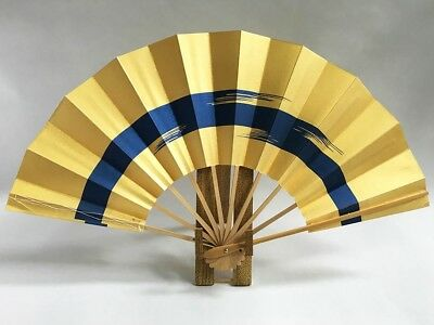 Vintage Japanese Geisha Odori 'Maiogi' Folding Dance Fan from Kyoto: Design XG