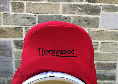Genuine Thorowgood Saddle Fleece Saddle Protector Cover With Embroidered Logo
