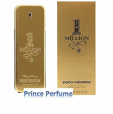1 MILLION PACO RABANNE EDT NATURAL SPRAY - 100 ml