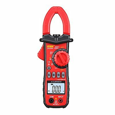 DMiotech UA2008A Volt Tester Ammeter AC 600A Digital Clamp Meter Multimeter, New