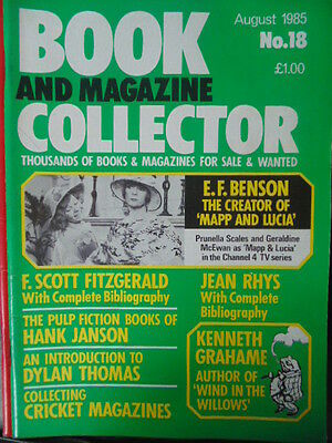 BOOK & MAGAZINE COLLECTOR  No 18 AUGUST 1985